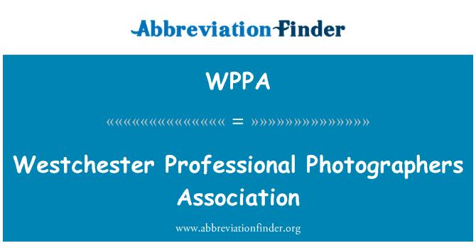 WPPA: Westchester profesyonel fotoğrafçılar Derneği
