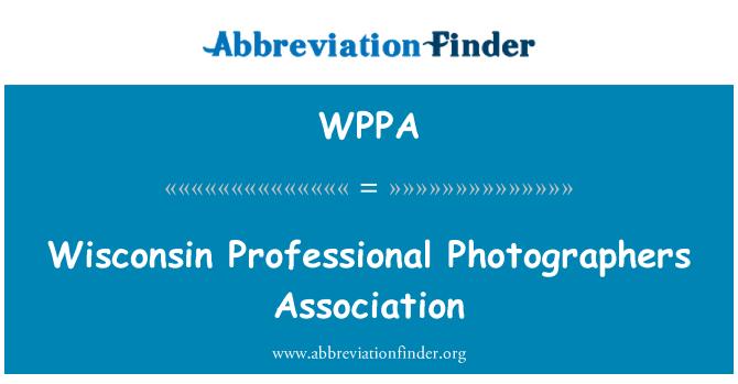 WPPA: Wisconsin profesyonel fotoğrafçılar Derneği