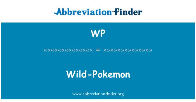 WP: Wild-Pokemon