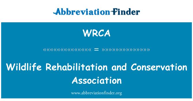 WRCA: Asociación de conservación y rehabilitación de fauna silvestre