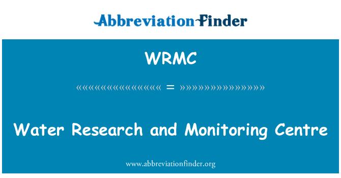 WRMC: Investigación del agua y Observatorio