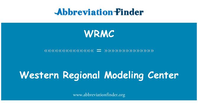 WRMC: Centro de modelado de la región occidental