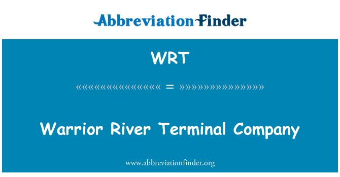 WRT: Warrior River Terminal Company