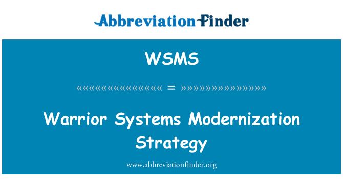 WSMS: Estrategia de modernización de los sistemas de Guerrero