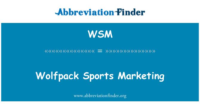 WSM: Wolfpack Sports Marketing