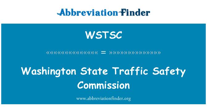 WSTSC: Washington State Traffic Safety Commission