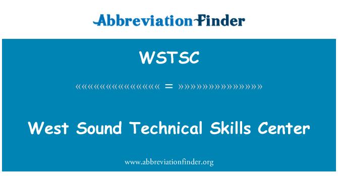 WSTSC: West Sound Technical Skills Center