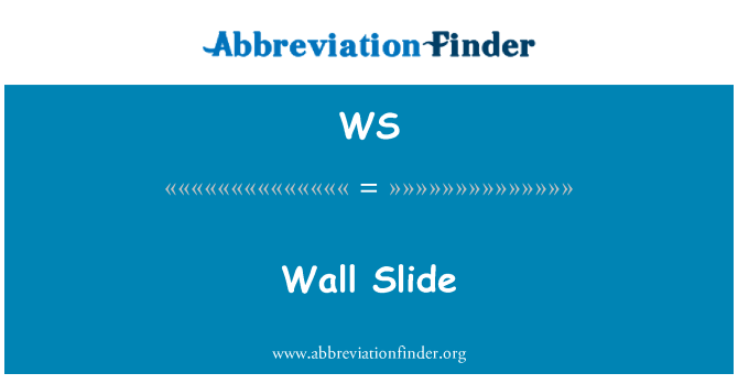 WS: Wall Slide