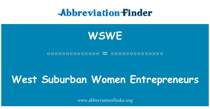 WSWE: Zapadno predgrađe žena poduzetnica