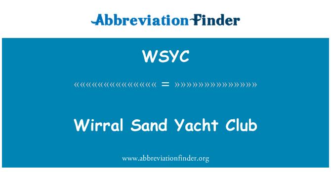 WSYC: Wirral Sand Yacht Club
