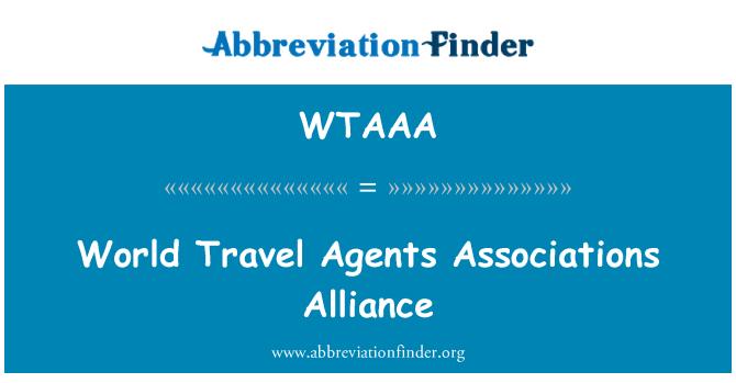 WTAAA: 世界旅行代理店連合同盟
