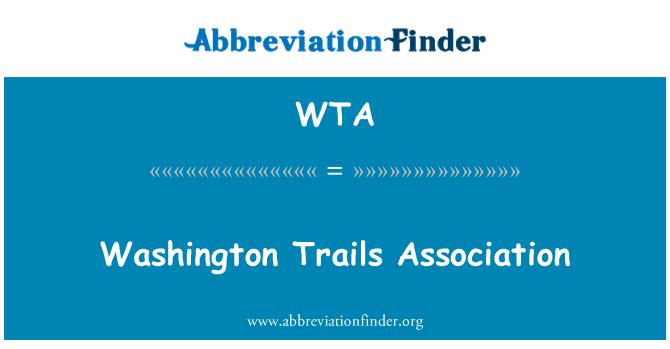 WTA: Washington Trails Association