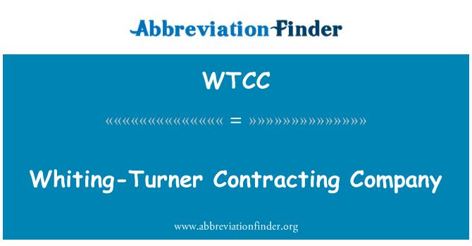 WTCC: Mezgit Turner müteahhitlik şirketi