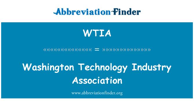 WTIA: Washington Technology Industry Association