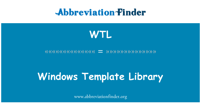 WTL: Windows Template Library