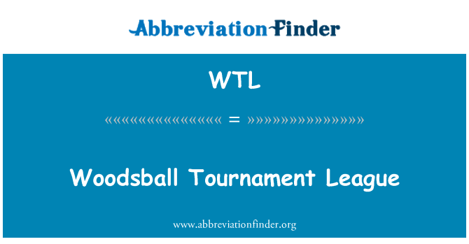 WTL: Woodsball Tournament League
