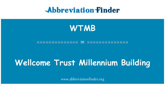 WTMB: Edificio Wellcome Trust del Milenio