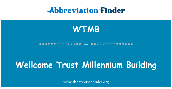 WTMB: Wellcome güven Millennium bina