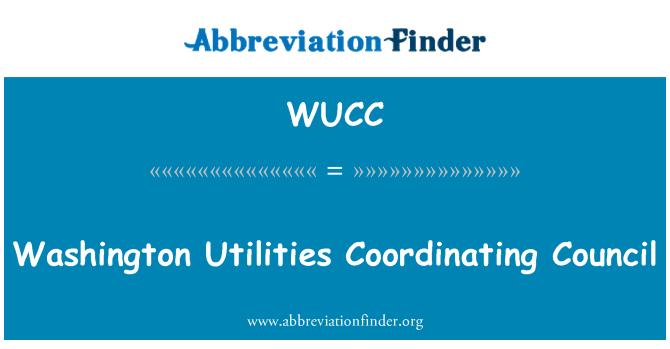 WUCC: Washington yarar koordinasyon Konseyi