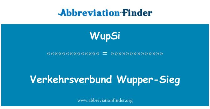 WupSi: Verkehrsverbund Wupper-Sieg