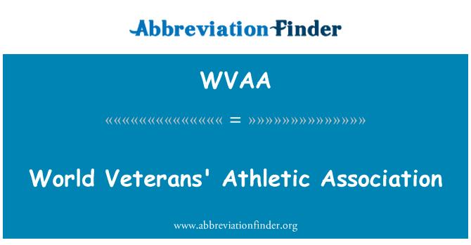 WVAA: Asociación atlética mundial veteranos