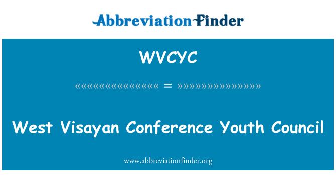 WVCYC: Consejo de juventud de sus Conferencia oeste