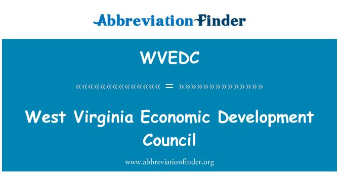 WVEDC: West Virginia Economic Development Council