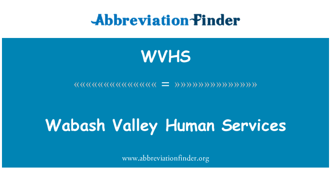 WVHS: Wabash Valley Human Services