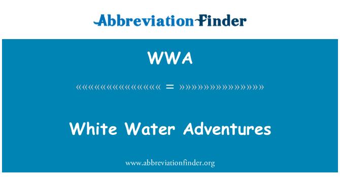 WWA: White Water Adventures