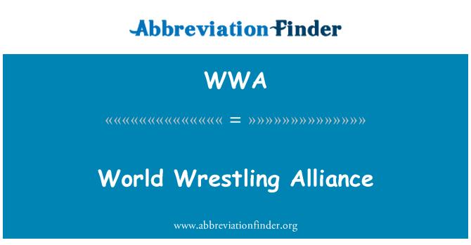WWA: World Wrestling Alliance