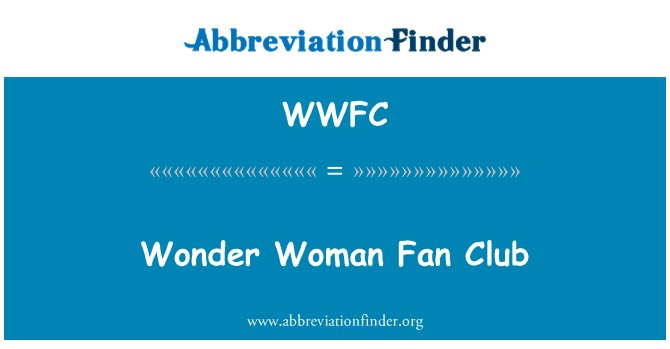 WWFC: Wonder Woman Fan Club