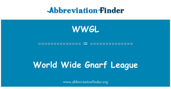 WWGL: World Wide Gnarf League