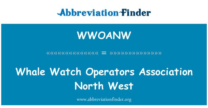 WWOANW: Kita sat operatori udruženja sjevero zapad