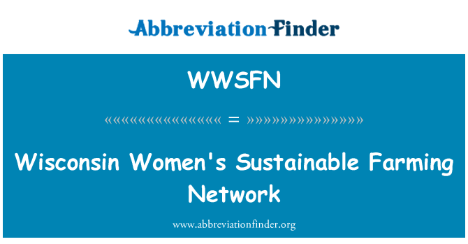 WWSFN: Wisconsin Women's Sustainable Farming Network