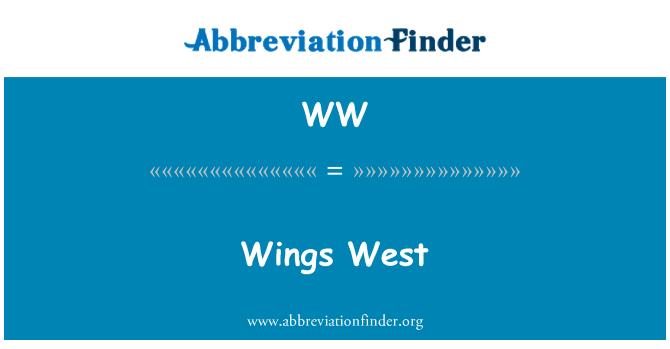 WW: Wings West