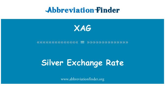 Definisyon An Angle Silver Exchange Rate