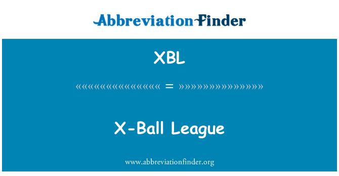 XBL: X-Ball League