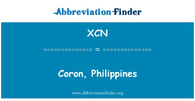 XCN: Coron, Philippines