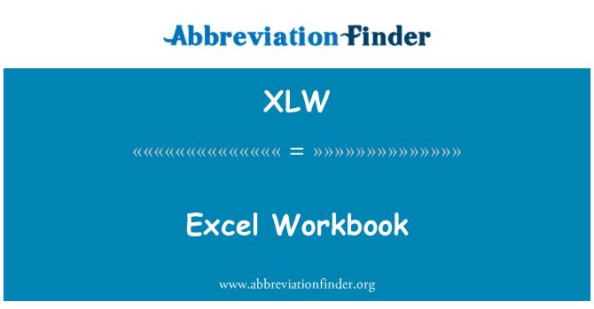 XLW: Excel Workbook