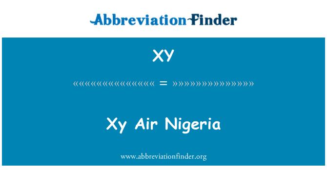 XY: Xy Air Nigeria