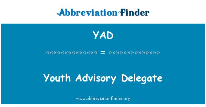 YAD: 青年咨询委托