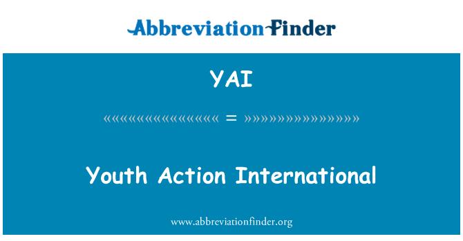 YAI: Youth Action International