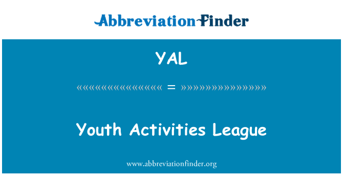 YAL: Youth Activities League