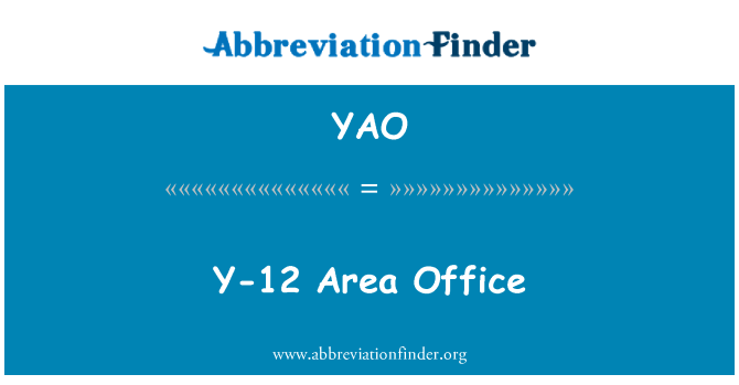 YAO: Y-12 Area Office