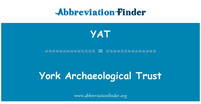YAT: 约克考古学信托