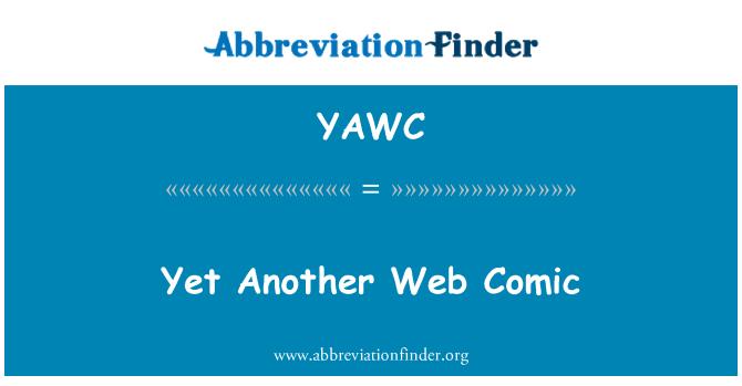 YAWC: ابھی تک کسی دوسرے ویب کامک