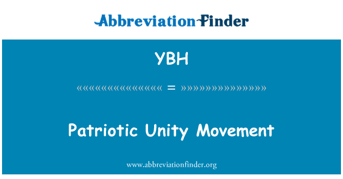 YBH: Patriotic Unity Movement