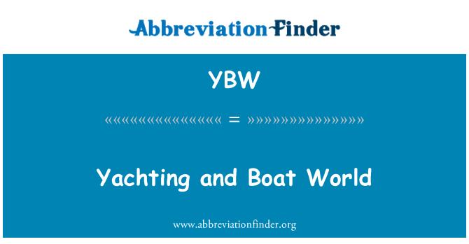 YBW: 游艇和小船的世界
