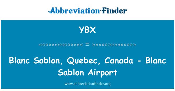 YBX: Blanc Sablon, Quebec, Canada - Blanc-Sablon luchthaven