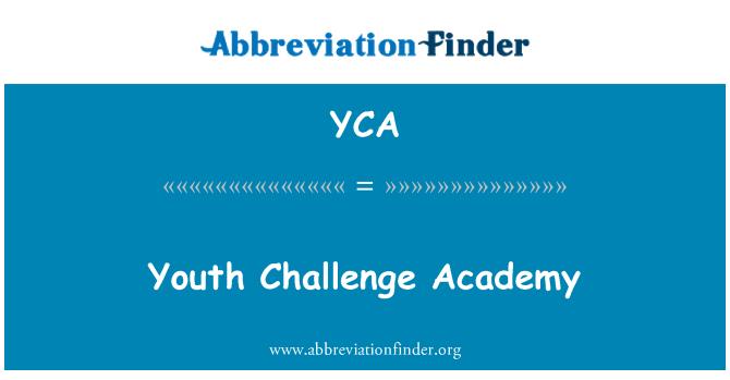 YCA: 青年挑战学院